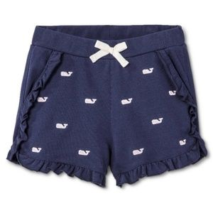 Vineyard Vines | Embroidered Whale Shorts | 14/16